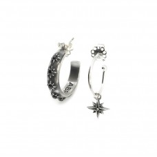 Stars Hoop Set earrings
