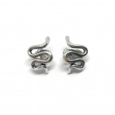 Snake earrings