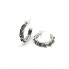 Abracadabra Hoop Earrings