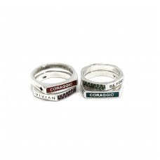 """""""Be you"""" gems Ring"""