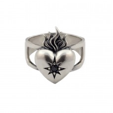 Sacred Heart Signet Ring