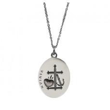Faith, Hope and Charity Pendant